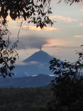 Amazon volcano