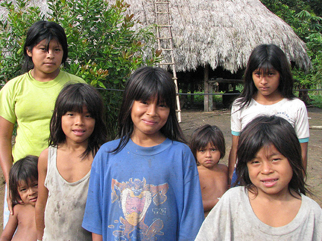Indigenous kids
